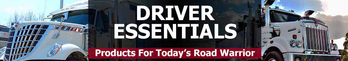 Driver Essentials - Products For Today's Road Warrior