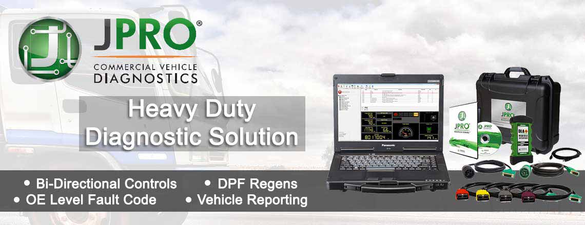 JPRO Heavy Duty Diagnostic Solution
