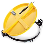 PIG® Latching Drum Lid for 55 Gallon Drum - Yellow
