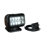 GoLight 20214 LED Permanent Mount Searchlight Wired Dash-Mount Remote