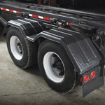 Minimizer 200 Series Poly Truck Fender Kit for Tandem Axle