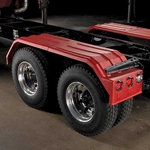 Minimizer 1500 Series Poly Truck Fender Kit for Tandem Axles