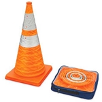 "Collapsible 28"" Cone with LED Lights"