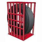 Branick Model 2260 6-Bar Heavy Duty Truck Inflation Cage