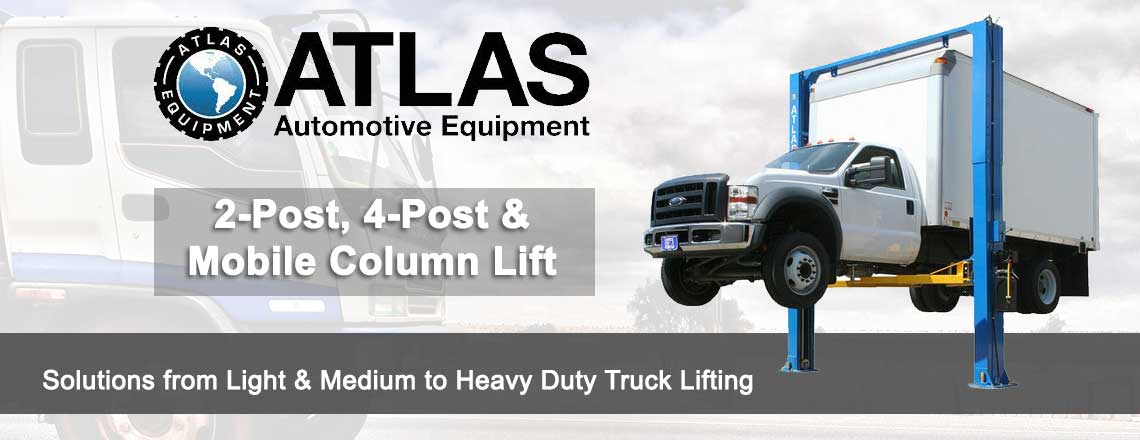 Atlas 2-Post, 4-Post & Mobile Column Lifts