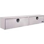 Aluminum Diamond Tread Topside Toolbox 90 in.