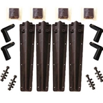 Minimizer Plastic Bolt On Bracket Kit for Poly Truck Fenders