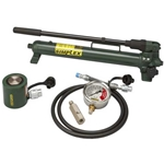 "Simplex 10 Ton Cylinder and Hand Pump Kit w/ 2"" Stroke"