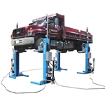Atlas Mobile Column Lift System 44,000 lb. Capacity, 4 Columns