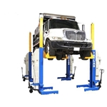 Atlas Mobile Column Lift System 74,000 lb. Capacity, Battery Powered
