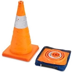 "Collapsible 18"" Cone with LED Lights"
