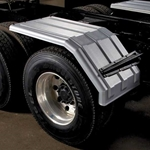 Minimizer 1550 Series Poly Truck Fender Kit Half Fender