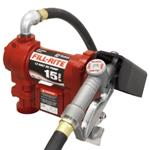 12 Volt DC Pump with Manual Nozzle