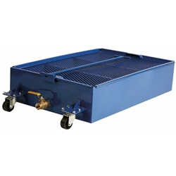 Low Profile Portable Oil Drain - 25 Gallon