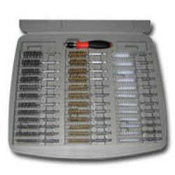 36 Piece Bore Brush Set with 1/4in Driver Handle